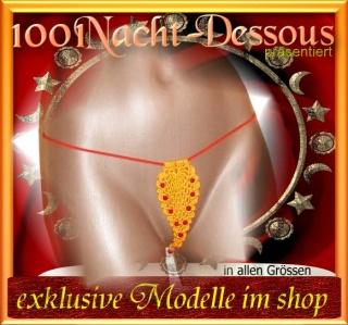 sexy HäkelString, Dessous Intimschmuck Erotik, Häkel-String  - Handarbeit kaufen