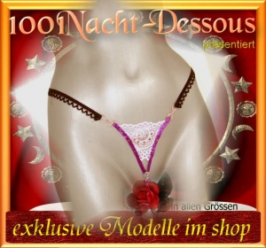 sexy Perlenstring ->Luxus O-String Intimschmuck