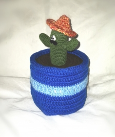 Klopapierhut Kaktus Mexico ToilettenpapierhutBart