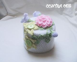 romantisch Rosenbouquet Toilettenpapierhütchen elegant chic