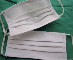 Mund - und Nasenmaske aus Baumwolle, KEIN Virenschutz ,KEIN Medizinprodukt