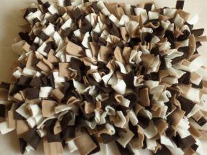 Schnüffelteppich Schnüffeldecke Schnüffelmatte 45x40cm