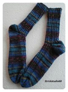handgestrickte Socken Gr. 40/41