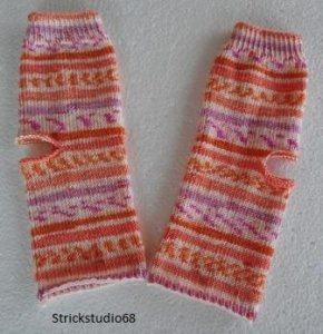 Yoga-Socken  Gr.36/37 - handgestrickt - dünnes Garn -  auch für Wollallergiker geeignet