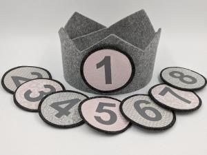 ♥ Geburtstagskrone ♥ Kindergeburtstag, Krone, Mein Tag, Happy Birthday  (Kopie id: 100269109) - Handarbeit kaufen