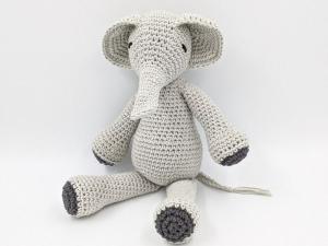 ♥ Häkelnelefant ♥ Häkeltier, Kuscheltier, Affe, Babygeschenk, Geschenk, Geburtstagsgeschenk (Kopie id: 100268795) (Kopie id: 100268796) (Kopie id: 100269230) - Handarbeit kaufen