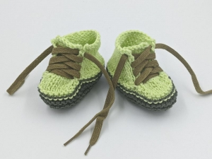 ♥ Babystrickschuhe ♥ Taufgeschenk, Geburtsgeschenk, Babygeschenk, Strickschühchen (Kopie id: 100276413) (Kopie id: 100276414) (Kopie id: 100276430) (Kopie id: 100276434) (Kopie i - Handarbeit kaufen