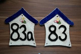 Hausnummer Haus