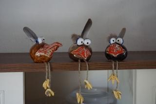 Vogel Berd, der Linke