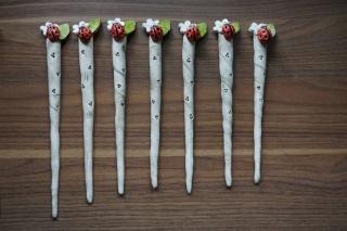 Blumenstecker Marienkäfer  für den Blumentopf oder Strauß