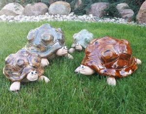 Schildkröte klein Spardose handgemacht, getöpfert, ton, grün