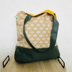 Stylische Shopper - Bag im Retro-Look