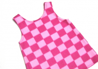 Gr:  92 / 98 Tunika, Kleid, Hängerchen, Handarbeit