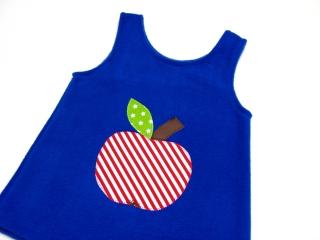 Gr: 92 / 98 Tunika ~ Kleid ~ Hängerchen ~ Apfel ~ Handarbeit  - Handarbeit kaufen