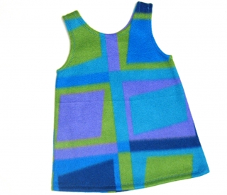 Gr: 110 ,116  Selbstgenähte Tunika, Kleid, Hängerchen