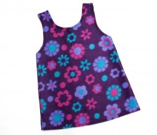 Gr: 92, 98      Tunika ~ Kleid ~ Hängerchen ~ Blume