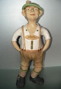 Keramik Figur Unikat handgetöpfert Bayer Gustl  54cm kaufen