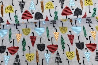 Softshell ♥ Regenschirme ♥ Grau