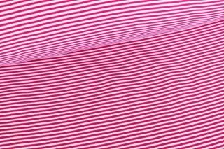 Bündchen ♥ Streifen ♥ Pink/Weiß