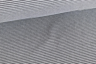 Bündchen ♥ Streifen ♥ Anthrazit/Grau