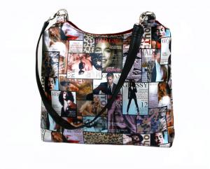 Handtasche ♥ Bad Girl ♥ Schultertasche Shoppingtasche Bag Shopper  - Handarbeit kaufen