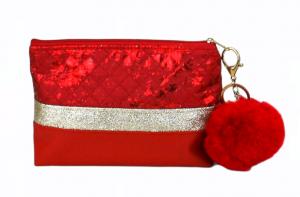 Kosmetiktasche ♥ Lilly ♥ Schminktäschchen Bag Minibag - Handarbeit kaufen