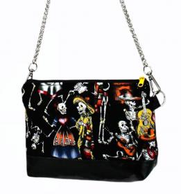 Handtasche ♥ Joke Total ♥ Umhängetasche Bag Clubtasche Schultertasche - Handarbeit kaufen