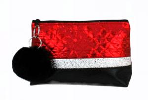 Kosmetiktasche ♥ Capitel Mini ♥ Schminktäschchen Bag Minibag  - Handarbeit kaufen