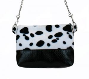 Handtasche ♥ Dalmatiner ♥  Schultertasche Bag Clubtasche Umhängetasche - Handarbeit kaufen