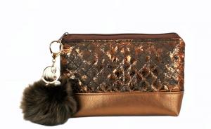 Kosmetiktasche ♥ Chocolate ♥ Schminktäschchen Bag Minibag - Handarbeit kaufen
