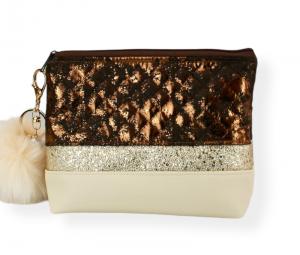 Kosmetiktasche ♥ Beautydream ♥  Schminktäschchen Bag Minibag - Handarbeit kaufen