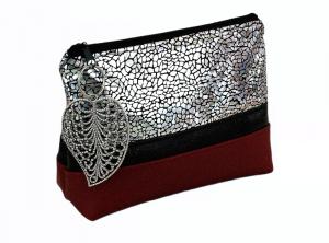 Kosmetiktasche ♥ Lotta ♥ Schminktäschchen Bag Minibag - Handarbeit kaufen