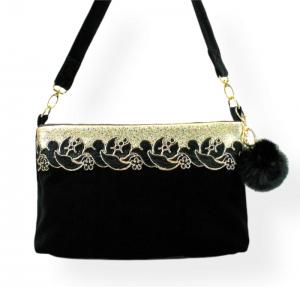 Handtasche ♥ Vanessa ♥ Designertasche Schultertasche - Handarbeit kaufen