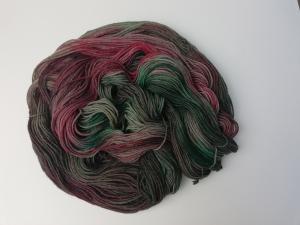 handgefärbte Wolle   kuschelweich   Jäger Variante 2