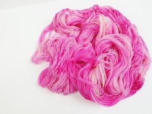 handgefärbte Wolle   kuschelweich   candy Variante 1