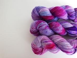 handgefärbte Wolle   3er-Set   pinksprinkles   Prinzenwolle