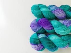 handgefärbte Wolle   kuschelweich   ☆ phantastische Tierwesen - Occamy ☆  