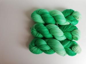 Prinzenwolle   pure - grün   ☆ Lanartus - fms ☆   handgefärbt