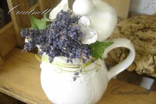 Schönes Dekokännchen mit Lavendel ideal zum mitbringen ♡