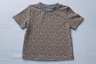 T-Shirt Zebras Gr. 86/92 nicht nur für Jungen Afrika - Handarbeit kaufen