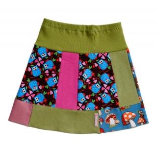 Jolly Rock Gr. 104 Mädchenrock, Feincord, Unikat - Handarbeit kaufen