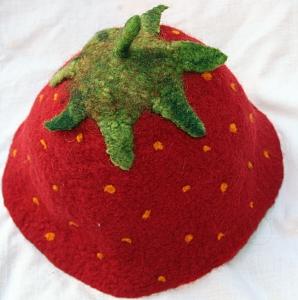 Filzhut Erdbeere ab 55cm