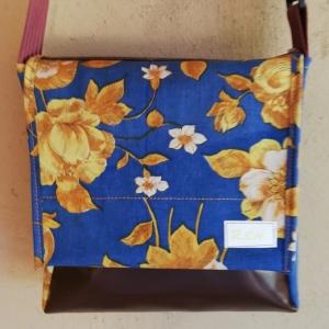 Taschen aus Luftmatratze und LKW Plane mit Blumenmuster aus dem letzten Jahrtausend, jede REH. Tasche ist ein Unikat! (Kopie id: 100137955) (Kopie id: 100138026) - Handarbeit kaufen