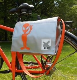 Fahrradtasche, Satteltasche, Lenkertasche, Umhängetaschen aus Plane fürs Fahrrad