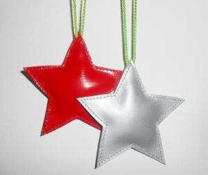 Toller Aufhänger in Sternform aus LKW Plane für drinnen und draußen, Garten, Baum, Weihnachten (Kopie id: 100146061) - Handarbeit kaufen