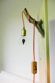 Ast Lampe Holz Holzlampe Wandlampe Baum Textilkabel Unikat (Kopie id: 100213147) (Kopie id: 100213154)