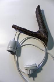 Ast Lampe Holz Holzlampe Wandlampe Baum Textilkabel Unikat (Kopie id: 100213147) (Kopie id: 100213154) (Kopie id: 100213158)