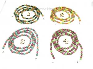 Brillenkette, Kette, Holzperlen, Holz, Holzkette, Perlen, Halsschmuck, Schmuck, Geschenk für Frauen, Geschenk für Männer - Handarbeit kaufen