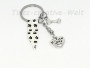 Schlüsselanhänger, Best Friend, Hund, Tierliebhaber - Handarbeit kaufen