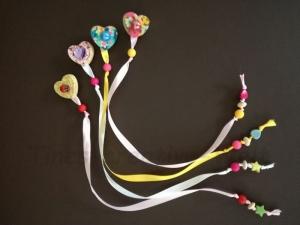 Lesezeichen, Holz, Herz, Jungen, Mädchen, Einschulung, Buchzeichen, Geschenk - Handarbeit kaufen